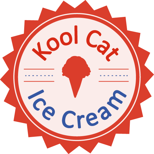 Kool Cat Ice Cream Badge